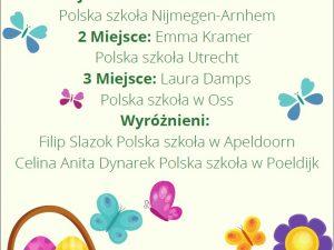 Wyniki Wielkanocnego Konkursu Pisankowego!